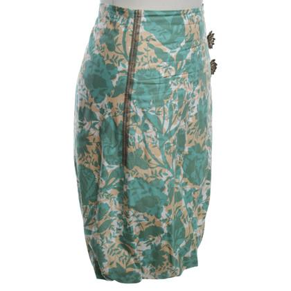 Schumacher skirt with floral print