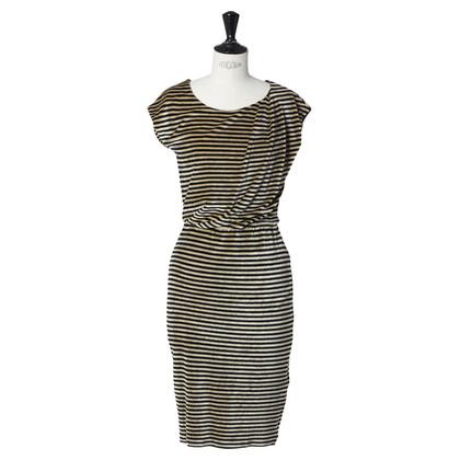 Armani Dress with stripe