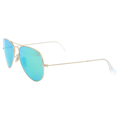 """Ray Ban Zonnebril """"Vlieger"""" in goud"""
