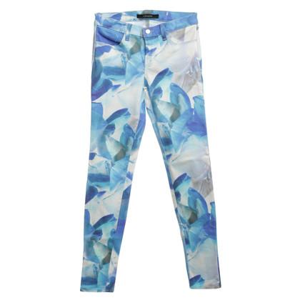 J Brand Jeans con un motivo floreale