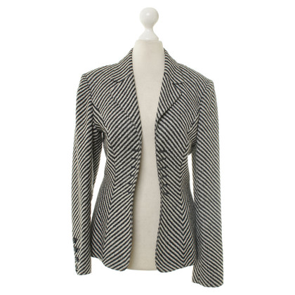 Karl Lagerfeld Blazer with striped pattern