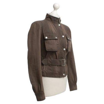 Belstaff biker jacket in marrone
