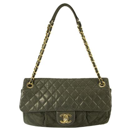 Chanel Tasche in Grau und Schwarz