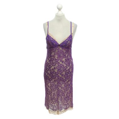 D&G Lace dress in purple