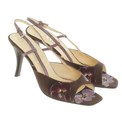Prada Sandals with floral pattern