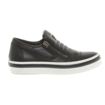Giuseppe Zanotti Sneakers in Schwarz/Weiß