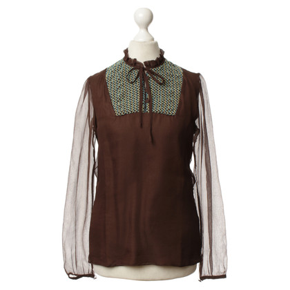 Paul & Joe Blouse in Brown