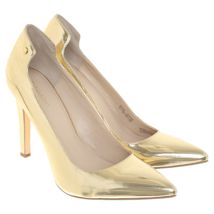 Calvin Klein pumps made of leather