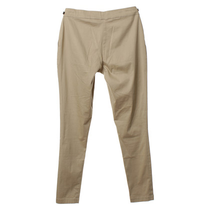 The Row Pants in olive green