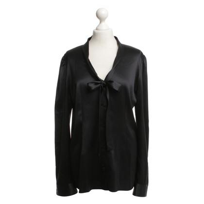 Dolce & Gabbana Zijden blouse in zwart