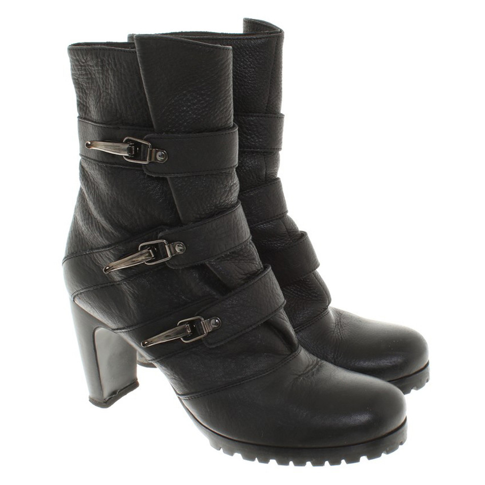 Marc Cain Ankle boots in black