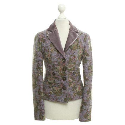 Etro Blazer with floral web pattern