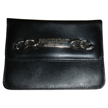 Fendi clutch in black