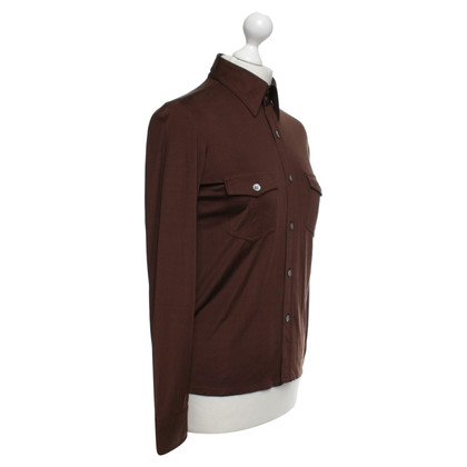 Equipment Silk blouse in brown