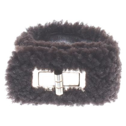 Chanel Lammfell-Armband