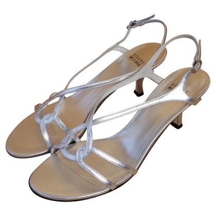 Stuart Weitzman zilver sandalen