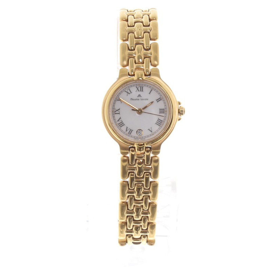 maurice lacroix gold colored wristwatch buy second