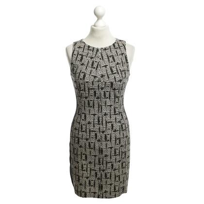 Drykorn Kleid in Schwarz/Weiß