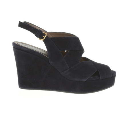 Marni Wedges in Blau