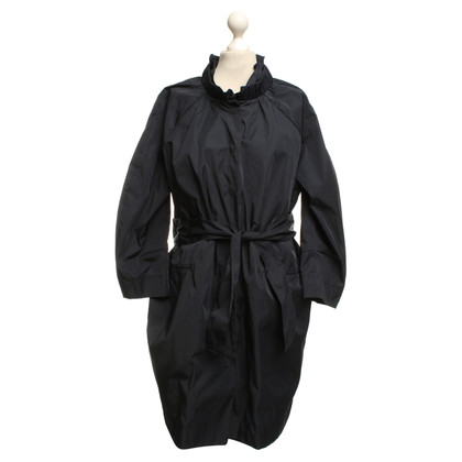 Armani Trench in blu scuro