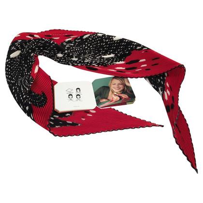 Hermès Plissee-Schal
