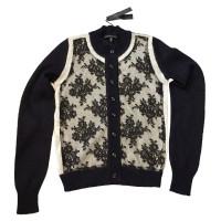 Alessandro Dell'Acqua Zwarte & wit vest