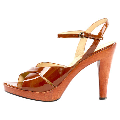 Miu Miu Lakleder sandaal