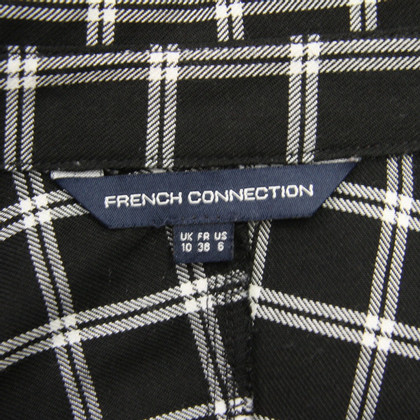 French Connection Karierte Bluse