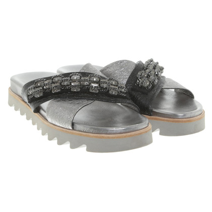 Dorothee Schumacher Sandals in zilver
