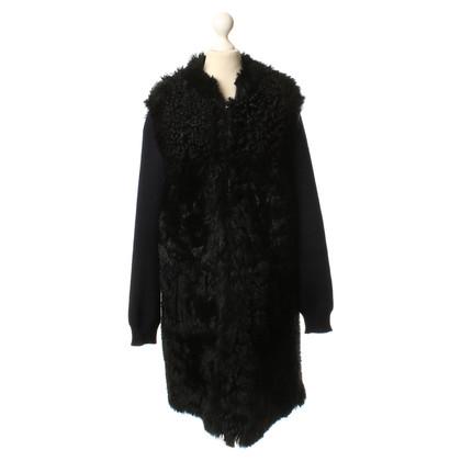 Marni Bont jas in zwart/blauw