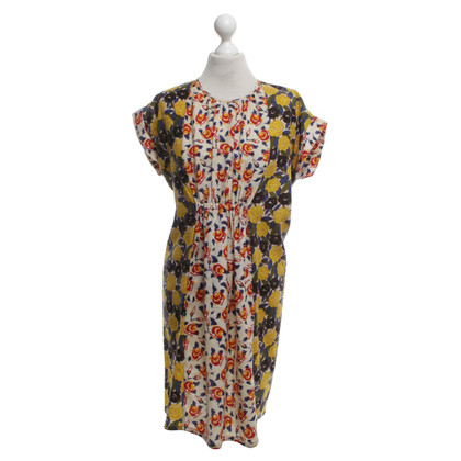 DURO OLOWU Dress with floral print