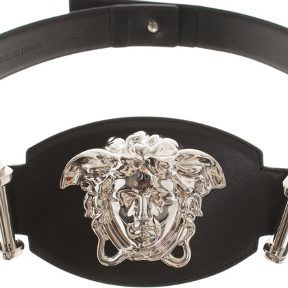 Versace Belt with logo print