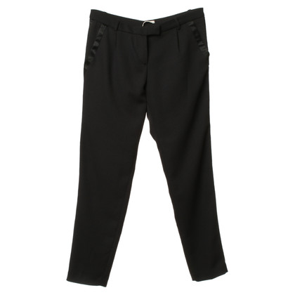Maje Tuxedo pants with gallon