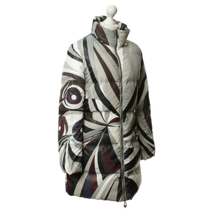 Emilio Pucci Patterned jacket in shades of Earth