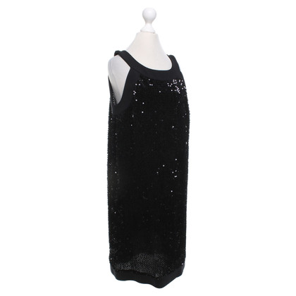 Piu & Piu Sequined dress in black