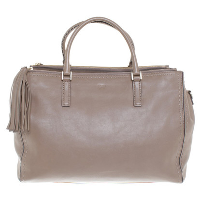 Anya Hindmarch Handtasche in Taupe