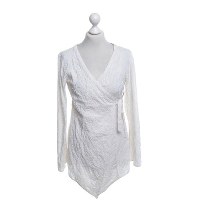 Odd Molly Enveloppez blouse en blanc