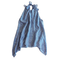 Michael Kors Silk-top with eye motif