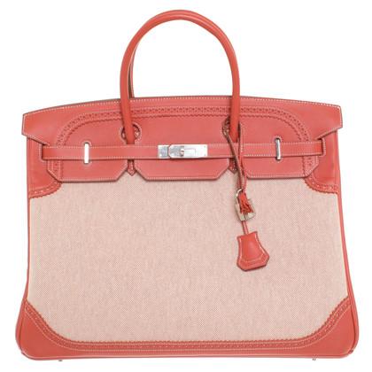 """Hermès """"Birkin Bag 40 Ghillies Toile H"""""""