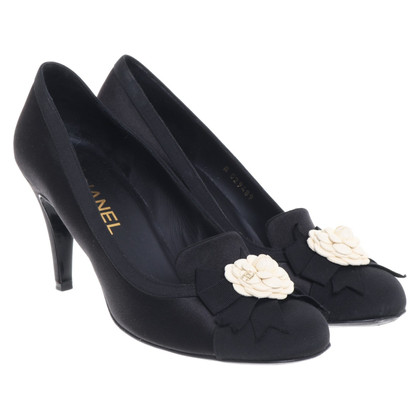 Chanel Pumps in Schwarz