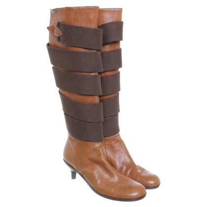Dries van Noten Stiefel in Braun