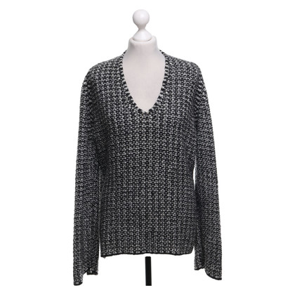 Marc Cain Sweater in zwart / wit