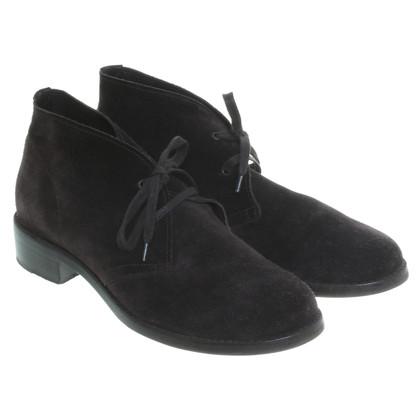 Bottega Veneta Suede shoes in dark brown