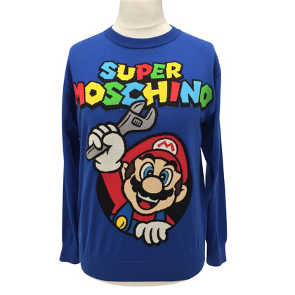 Moschino Sweater with print motif