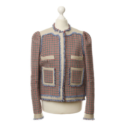 Balenciaga Jacke mit Fransen-Borten