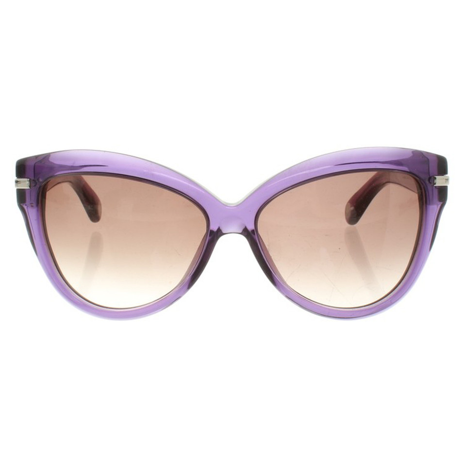 marc by marc jacobs sonnenbrille in violett second hand. Black Bedroom Furniture Sets. Home Design Ideas