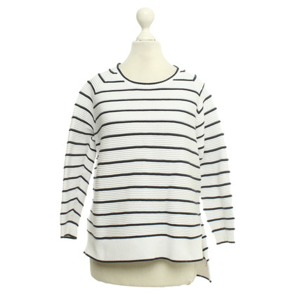 French Connection top with stripe pattern