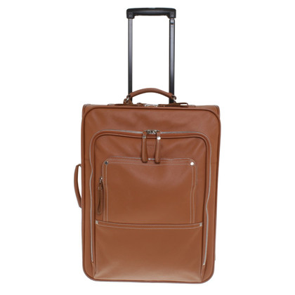 Longchamp Leren koffer