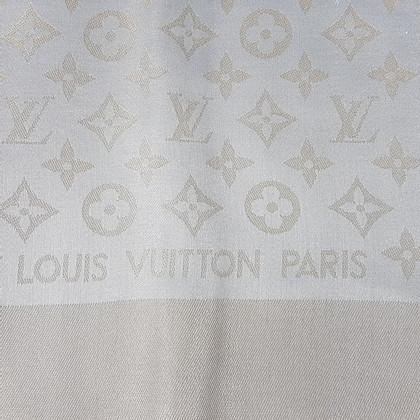 Louis Vuitton Monogram Shine-doek in Beige