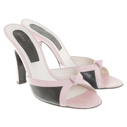 Marc Jacobs Sandals in rosé / black